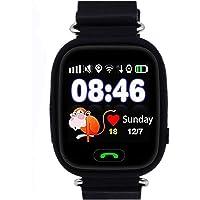 Niños Reloj Inteligente GPS Rastreador Localizador Anti-Lost Seguridad Niños Reloj de Pulsera SOS Llamadas SIM Podómetro…