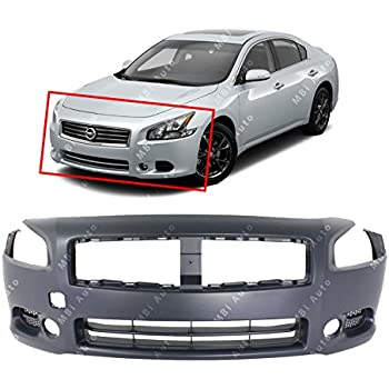 Pre Painted  2009-2014 FITS NISSAN MAXIMA FRONT BUMPER COVER PRIMED NI1000258
