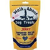 Walk About Jerky Dog Treat Kangaroo 7 OZ