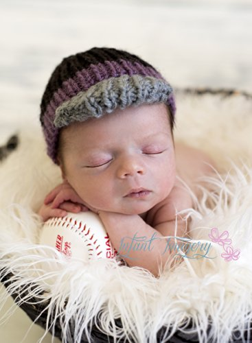 Baseball Cap Knitting Pattern All Sizes Newborn Through 1 3 Years