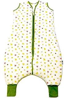 Slumbersac Muslin Sleeping Bag with Feet Approx. 0.5 Tog - Forest Friends- 12-