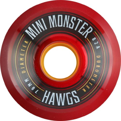 70 Mm Red Wheels - 9