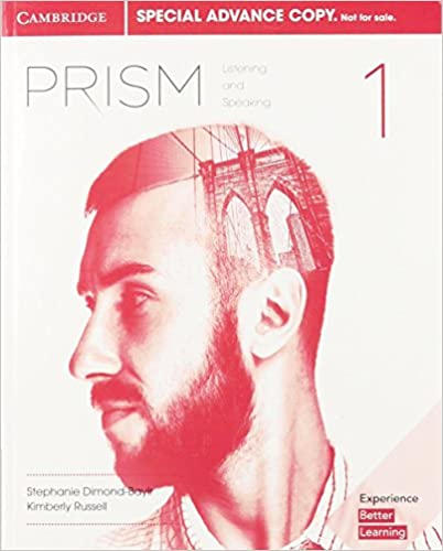 Prism Level 1 Student's Book Listening and Speaking (Advance Copy)
