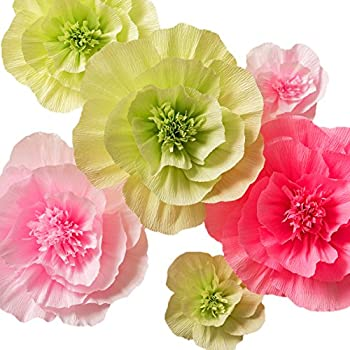 Amazon.com: Paper Flower Decorations, Handcrafted Flowers, Giant ...