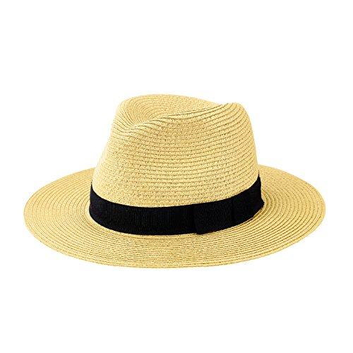 san-diego-hat-company-mens-ultrabraid-bow-fedora-hat-natural-os