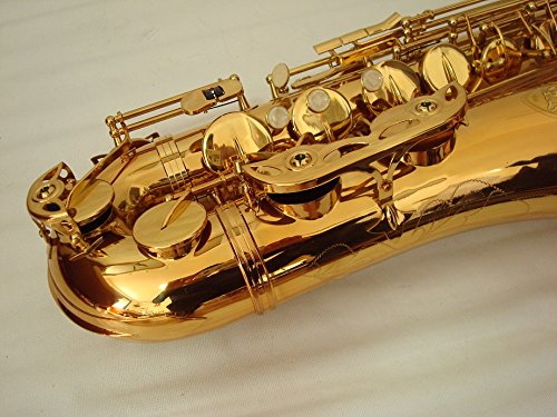OPUS USA By Ktone Professional Gold Tenor Saxophone Sax Brand New by OPUS USA (Image #5)