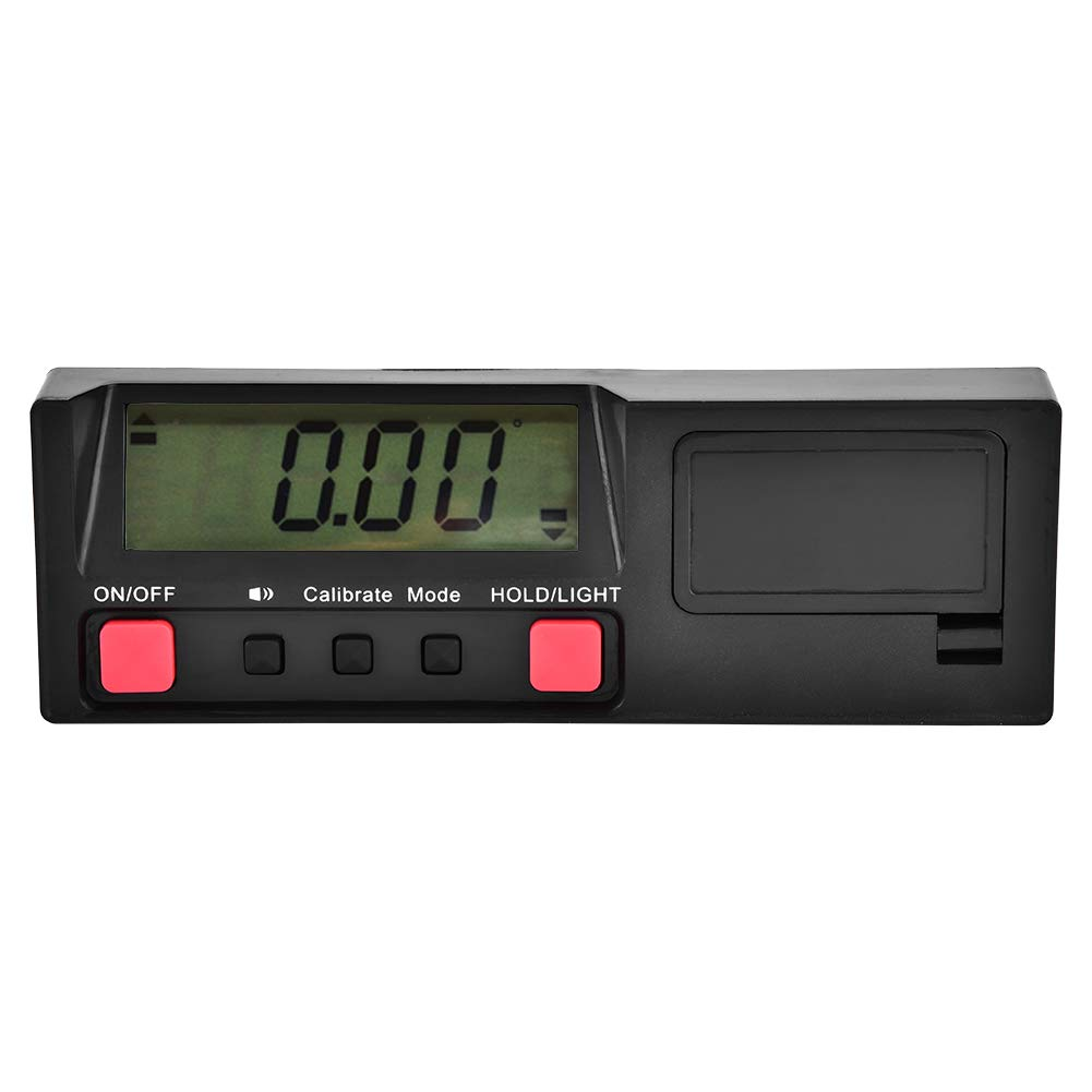 0-90° Digital Angle Gauge Electronic Protractor Inclinometer Bevel Box Level Finder Meter Walfront