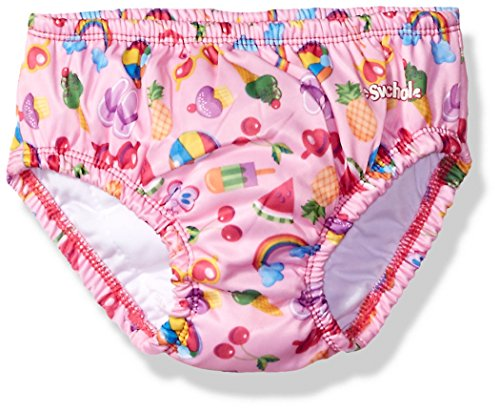 (Swim Diaper: Reusable Swim Diaper UPF 50 Level 1 (12 months, pink))