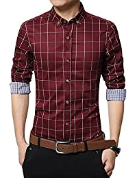 Amazon.com: Reds - Casual Button-Down Shirts / Shirts: Clothing ...