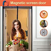 Magnetic Screen Doors New 2018 Patent Pending Design Full Frame Velcro and Fiberglass Mesh Polyester This Instantly...