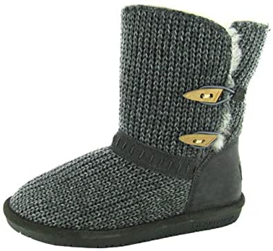 Bearpaw 'Abigail' Low Knit Boots (10 B(M) US, Grey)
