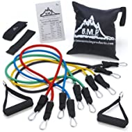 Black Mountain Products Resistance Band Set with Door...