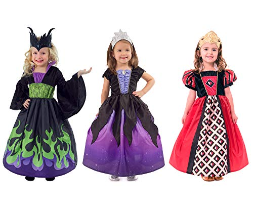Maleficent Baby Costumes - Little Adventures Dragon Queen, Sea Witch,