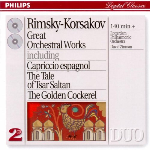 Rimsky-Korsakov: Great Orchestral Works by Philips