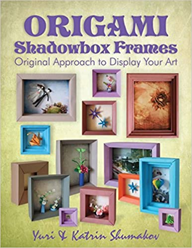 Origami Shadowbox Frames Original Approach To Display Your Art