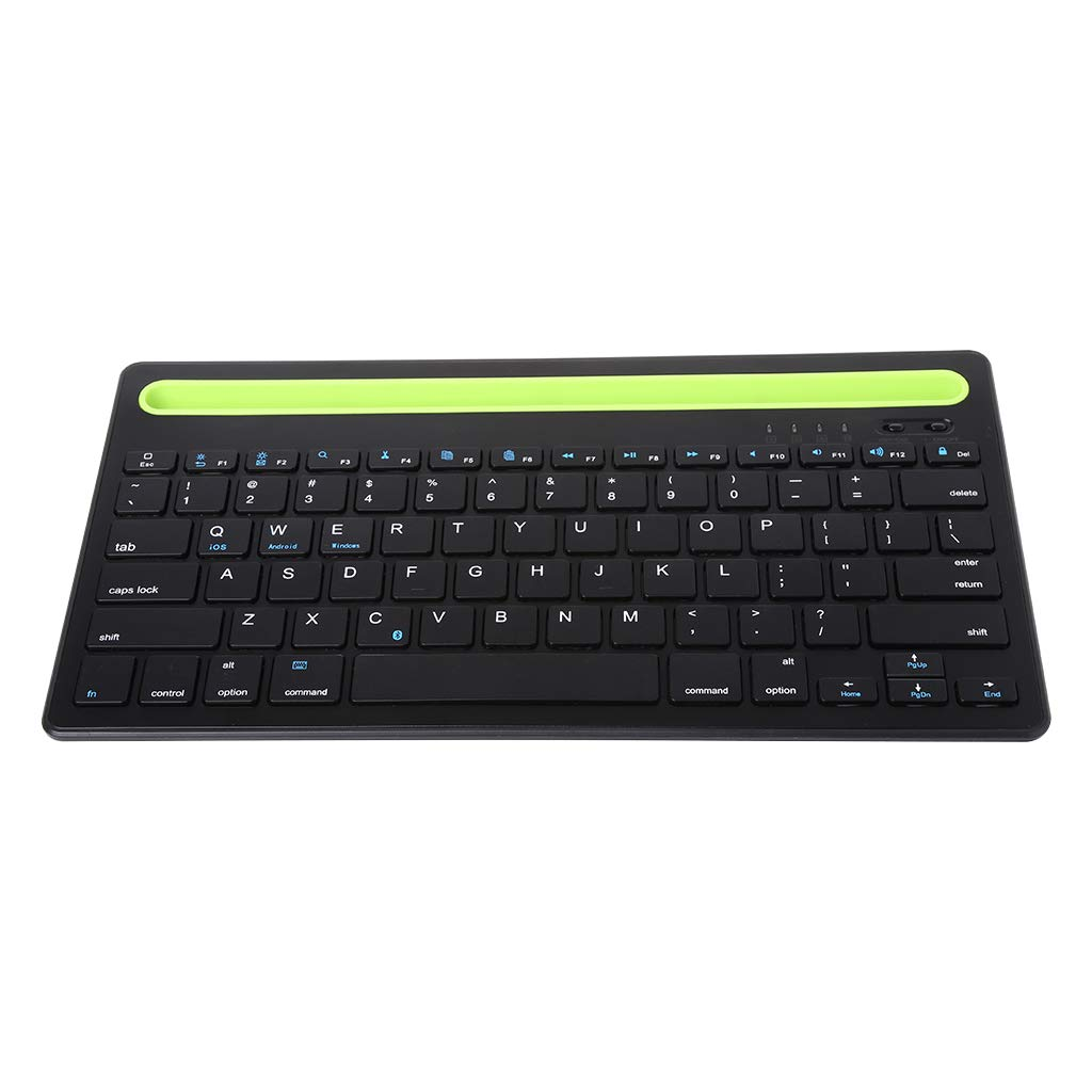 3fa4185746f RingBuu New, Multi-Device, Ultra-Slim, Cable-Free, Wireless Bluetooth  Keyboard, Compatible with Windows 7, Windows 8 or Later/Mac OS X or  Later/Chrome ...