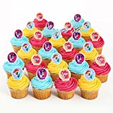 My Little Pony 24 Birthday Cupcake Rings Bag Fillers Party Supply Favors Prizes Party Supply