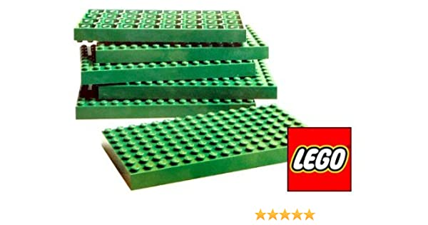 LEGO 16 X 32 STUD GREEN PLATE PIECE BASEPLATE TURF PART