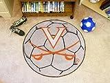 Fan Mats Virginia Soccer Ball Rug, 29'' Dia.