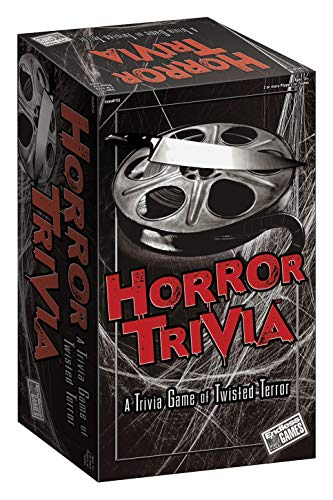 Horror Trivia Card Game (2018 Edition) - Scary Fun Halloween Game for Teens & Adults -