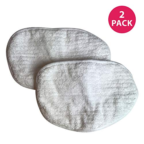 - 2 Bissell Washable, Reusable Steam Replacement Microfiber Mop Pads Fit Bissell Steam Mop model 1867; Compare to Bissell Steam Mop Part # 203-2158, 2032158, 3255, 32525; Designed & Engineered By Crucial Vacuum