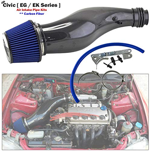 Carbon Fiber Air Intake System Suitable For Civic SR4 SO4 EG EG6 EK EK4 1992-2000
