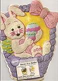 wilton bunny cake pan - Wilton Cake Pan: Bunny in a Basket/Easter Bunny (2105-2037, 1998)