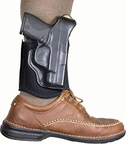 DeSantis Die Hard Ankle Rig Sig P365 014PC8JZ0, Color, Right, Black