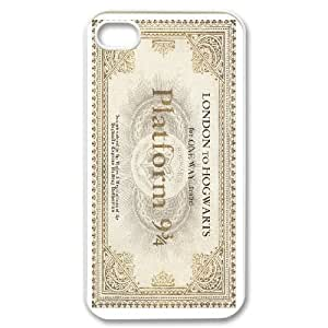 iPhone 4,4S Phone Case White Harry Potter F6536848
