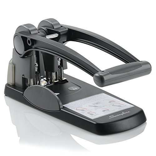 Swingline 2 Hole Punch, Extra High Capacity, Fixed Centers, 300 Sheets (A7074192) by Swingline