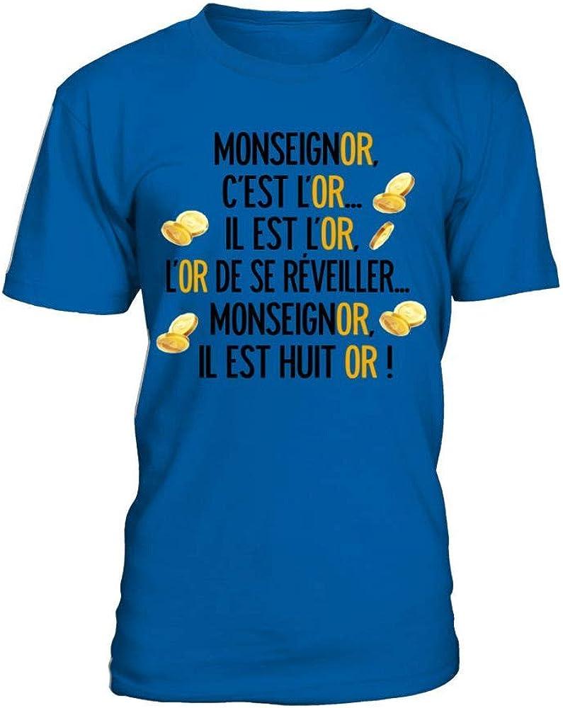 TEEZILY T-Shirt Homme La Folie des Grandeurs Louis De Fun/ès