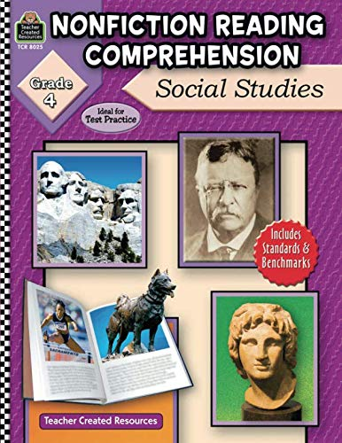 Nonfiction Reading Comprehension: Social Studies, Grade 4: Social Studies, Grade 4 ()