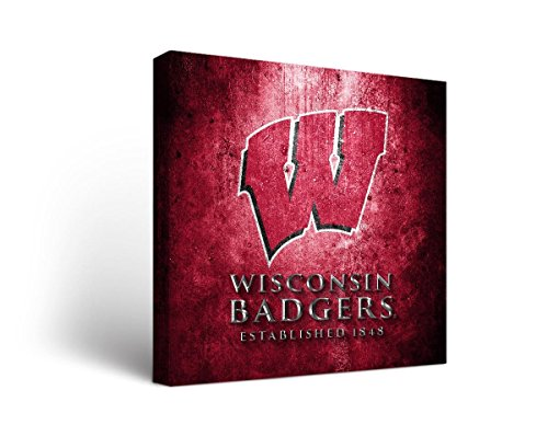 (Victory Tailgate Wisconsin Badgers Canvas Wall Art Museum Design (12x12))