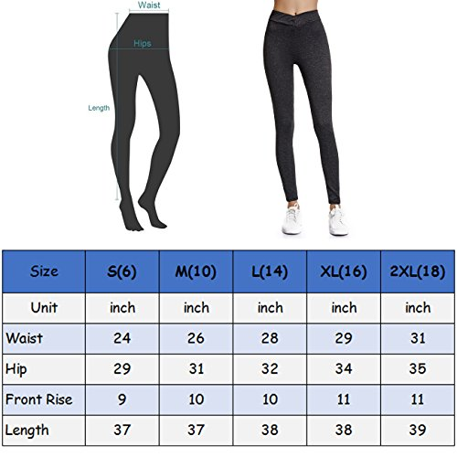 c9766959982162 Joyshaper Workout Leggings for Women Scrunch Butt Ruched High Waist Capri  Pants Running Gym