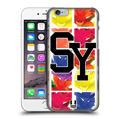 Head Case Designs Sydney Città Della Moda Cover Retro Rigida per Apple iPhone 6 / 6s