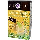 Stash Tea Powdered Green Iced Teas - Lemon Ginger (12x10ct)