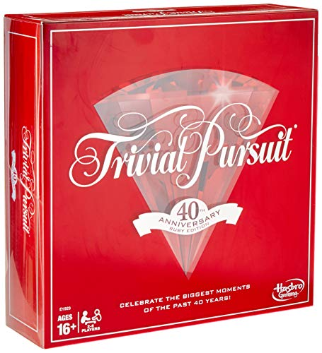 Trivial Pursuit 40th Anniversary Ruby -