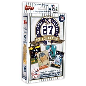 Amazon MLB New York Yankees Topps Yankees 27X Champs Set