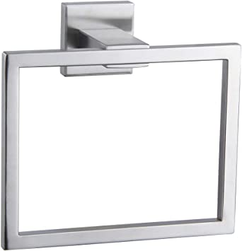 304 Stainless Steel Hand Towel Holder For Bathroom Jqk Towel Ring Brushed Fini