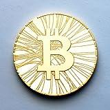 Bitcoin Antana .999 Fine Gold Plated Coin #124 Satoshi Nakamoto Batch
