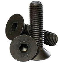 Bolt Base (5mm) M5 x 20 Black 10.9 Grade High Tensile Hex Socket Countersunk screws Self Colour Allen Bolts DIN 7991 - 20 Pack