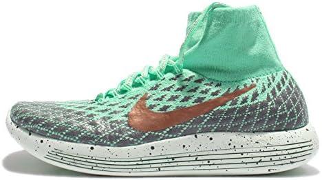 Nike - LunarEpic Flyknit Shield Damen Laufschuh (grün/grau): Amazon ...