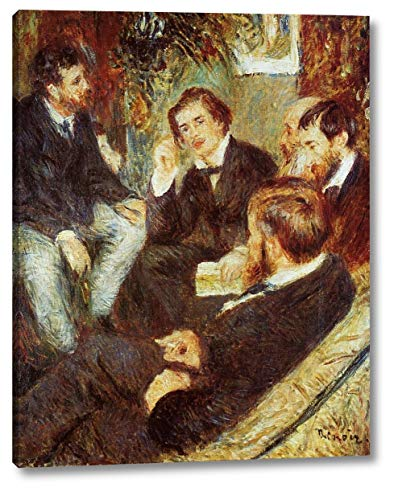 (The Artist's Studio, Rue Saint-Georges by Pierre Auguste Renoir - 8