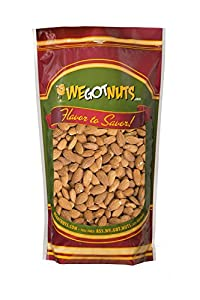 We Got Nuts Jumbo Almonds (Whole, Raw, Shelled, Unsalted) (7 Pounds)