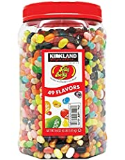 Jelly Belly Original Gourmet Jelly Beans Assorted Flavours Bulk tub 1.8kg 64oz