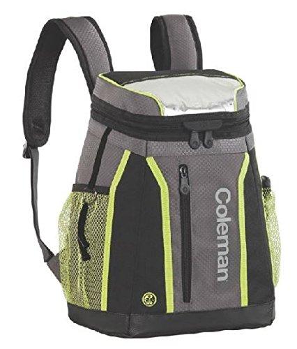 Coleman Maverick Ultra 18 Can Backpack Soft Cooler Black Lime