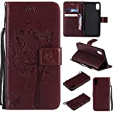 iPhone X/iPhone 10 Wallet Case, UNEXTATI® Leather Flip Cover Case with Kickstand Feature