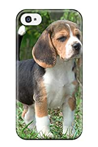 New Fashionable Farah Wareh LFjlQPs13378OzwCt Cover Case Specially Made For Iphone 4/4s(beagle Dog )