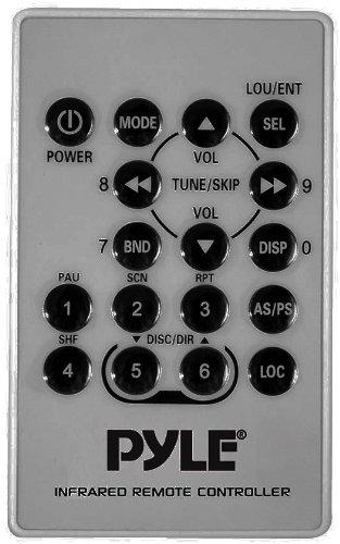 Pyle PLMR89WW Marine Flash Audio Player - 160 W RMS - Single DIN - LCD Display - MP3 - AM, FM - 18, 12 x FM, AM Preset - Secure Digital (SD) Card, MultiMediaCard (MMC) - USB - Auxiliary Input - Detachable Front Panel