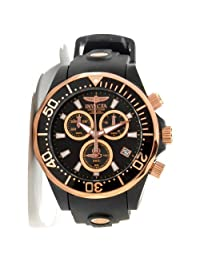 Grand Diver Pro Diver Stainless Steel Case Black Tone Dial Rubber Strap